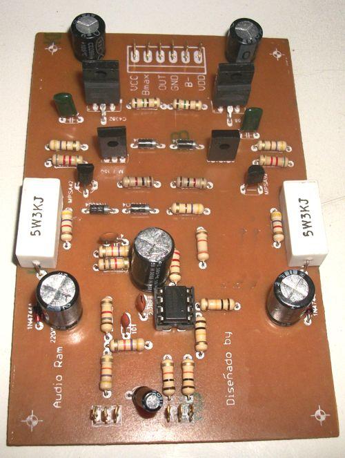 Circuito De Amplificador De Audio De 1000w Pdf : Amplificador de watt con entrada balanceada