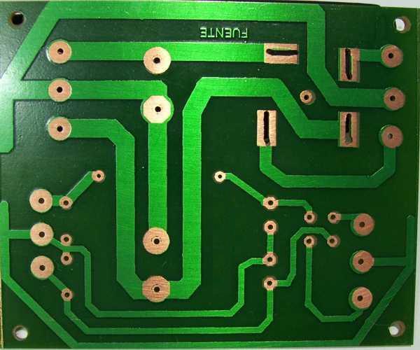 Circuito Impreso De Amplificador De 3000w : Como armar un amplificador w taringa