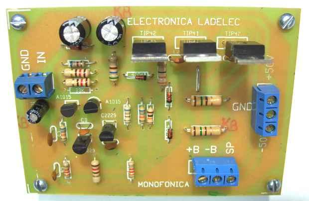 Circuito De Amplificador De Audio De 1000w Pdf : Cómo armé mi amplificador de w stereo actualizado